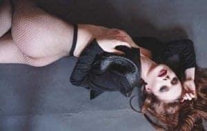Die Netzstumpfhose - für erotischen Stunden auch ohne Unterhöschen