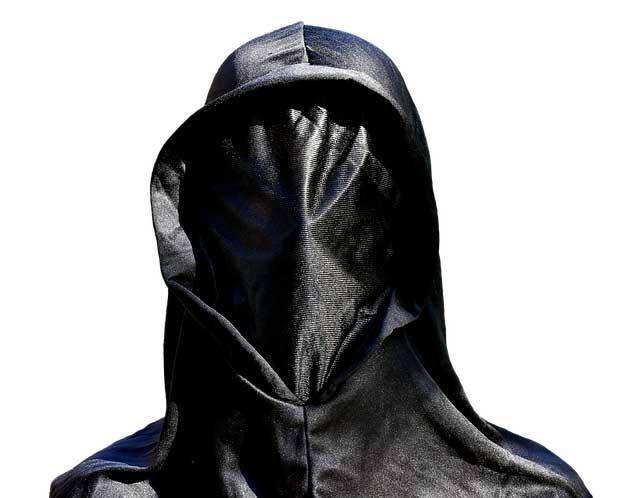 Maske ohne Öffnung