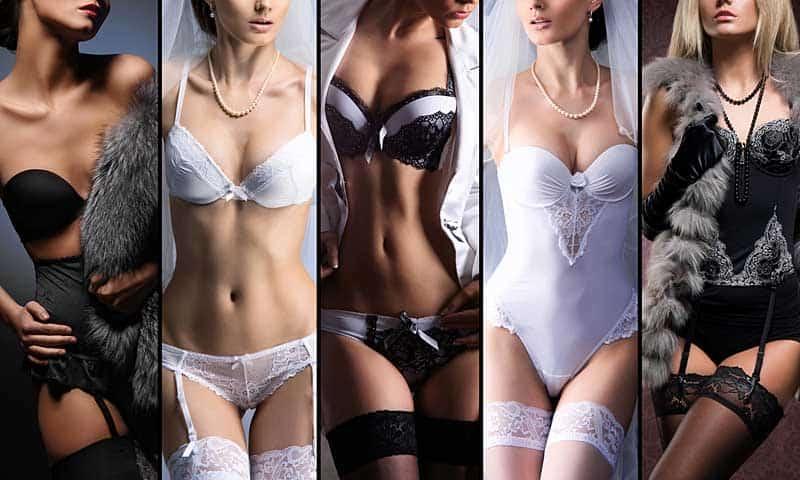 Sexy Unterwäsche - die Qual der Wahl