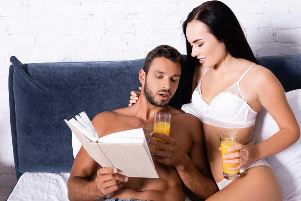 Erotische Bücher zur Inspiration depositphotos.com