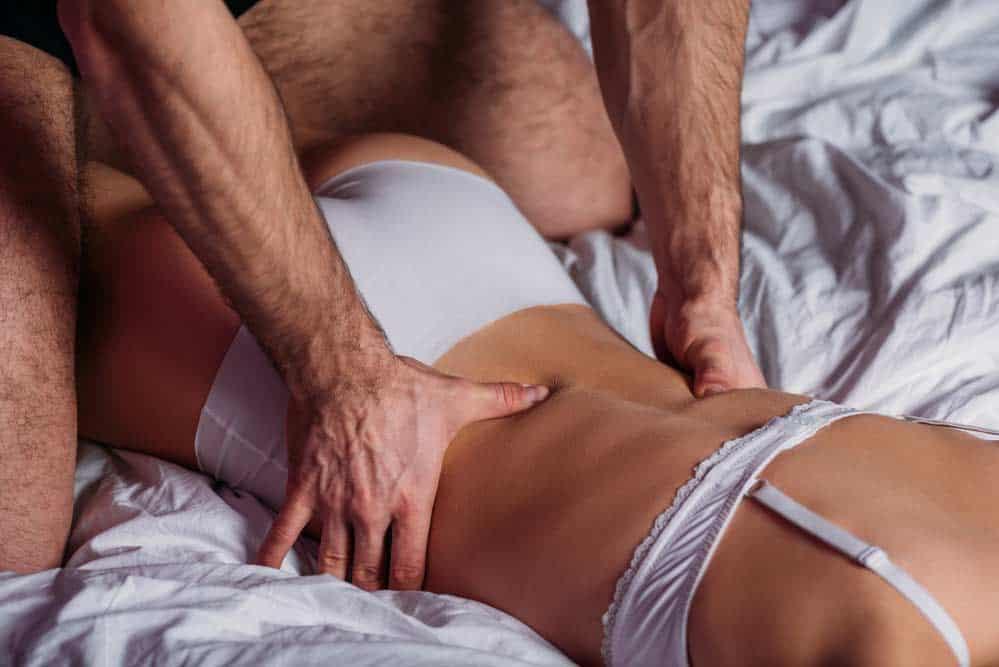 Erotische Massage Mann Frau depositphotos.com